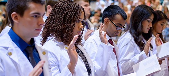 Click here to find more information about the White Coat Ceremony