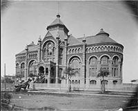 Ashbel_Smith_Building_UTMB_Galveston_vintage