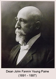 Dean John Fannin Young Paine